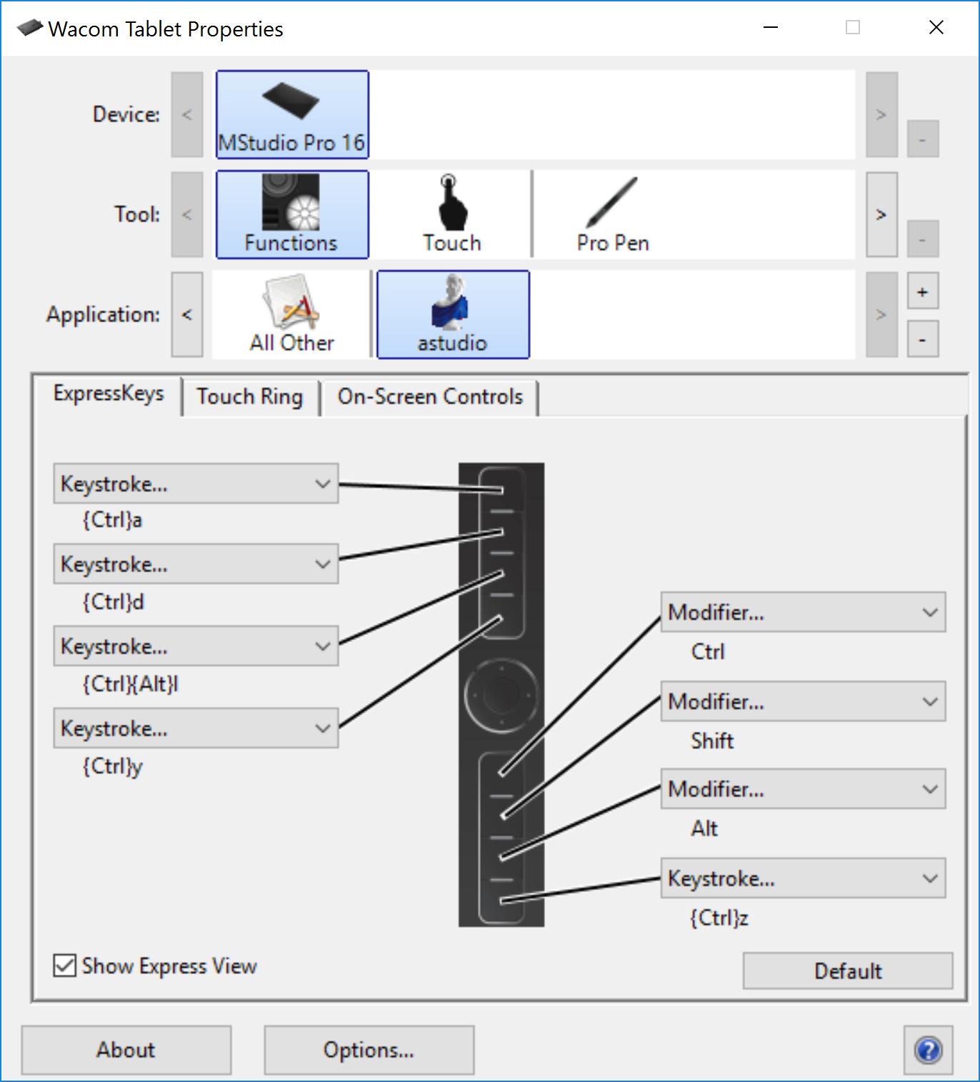 Configuration of Wacom Mobile Studio Pro – Artec Support Center